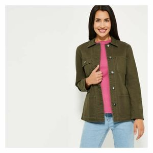 🎄 NEW WITH TAGS military style jacket Plus size